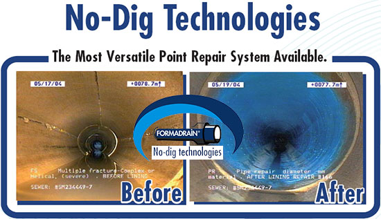 No Dig Pipe Repair Edmonton